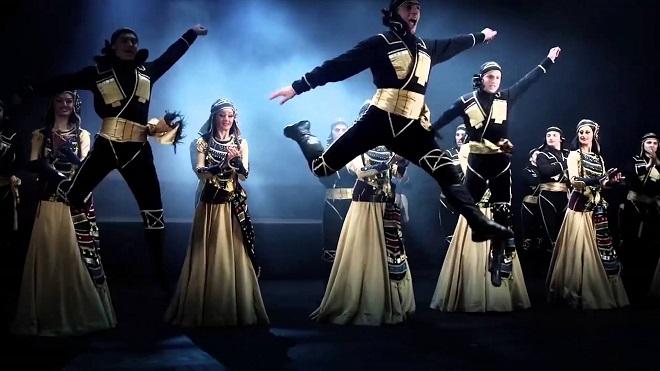 """Ансамбль Вирского гастролирует с ансамблем """"Рустави"""""""