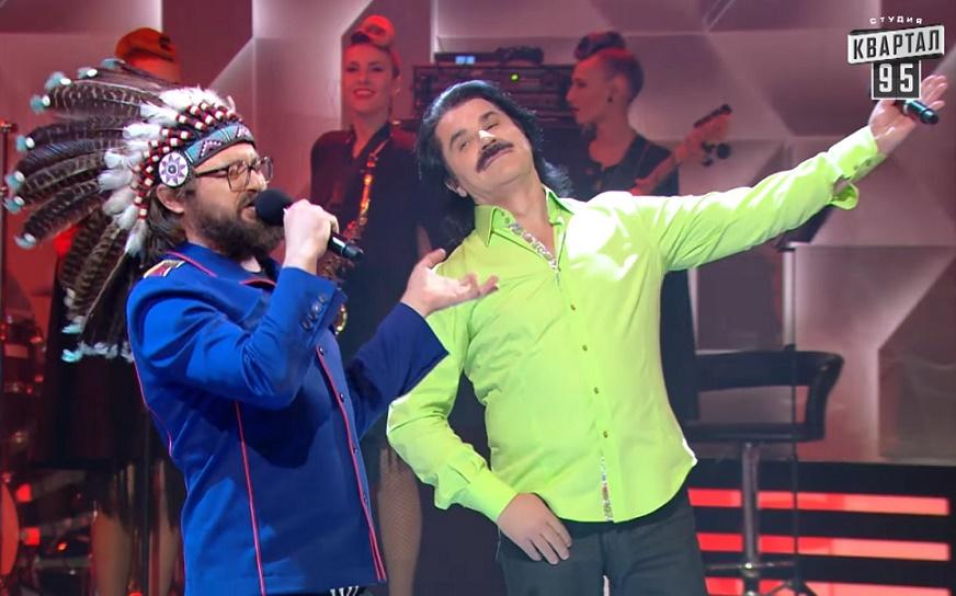 Украинские певцы столкнулись в рэп-битве