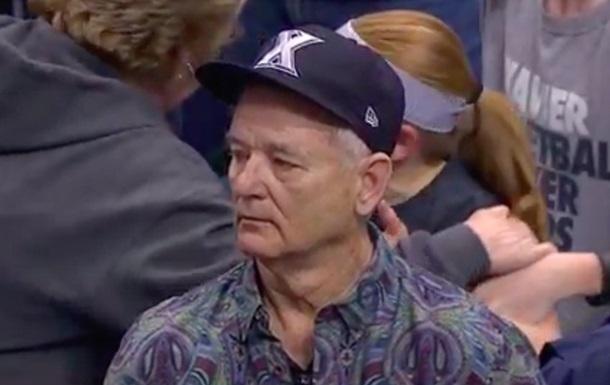 Билл Мюррей насмешил грустным лицом