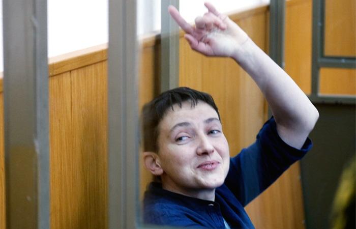 Фотограф посмеялся над праздничным плакатом Савченко