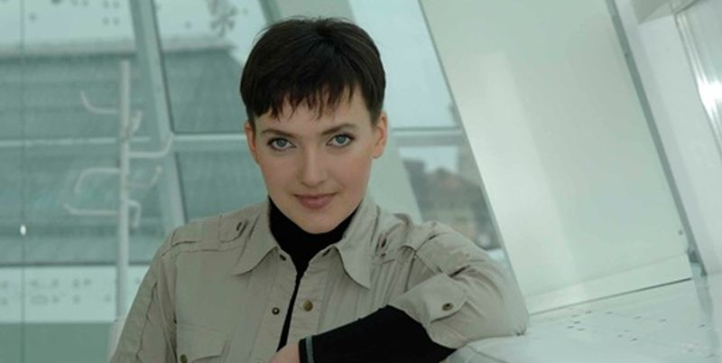Надежда Савченко пообедала в ресторане и впервые приехала в Раду