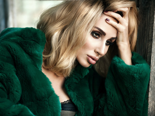 На финале украинского конкурса красоты также выбрали и самую красивую певицу