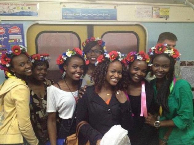Афроукраинки впечатлили венками