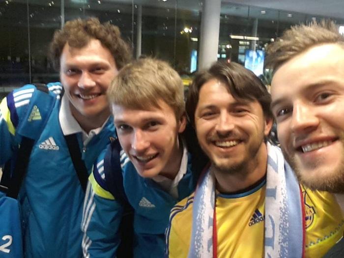 Сергей Притула пошутил о футболе