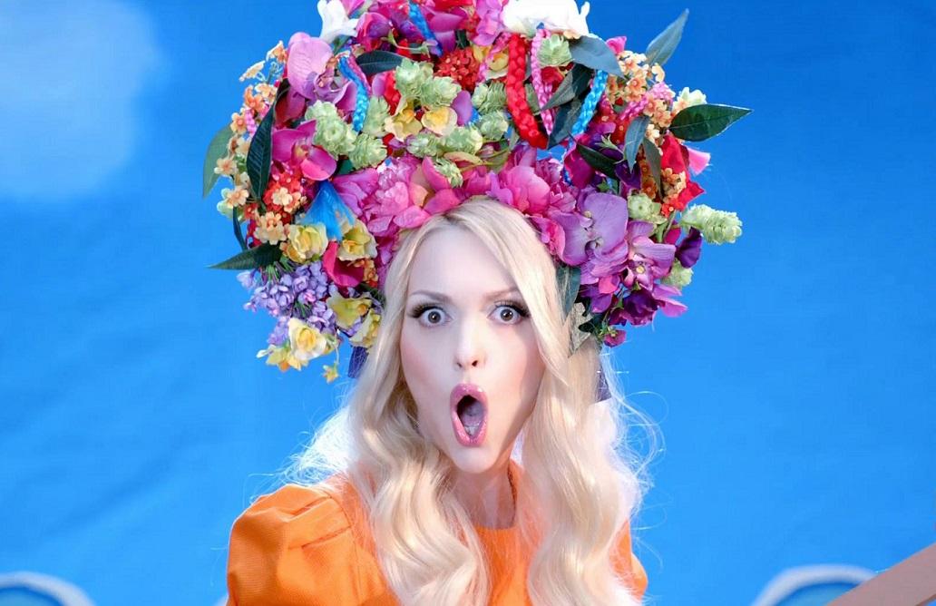 Оля Полякова показала естественную красоту