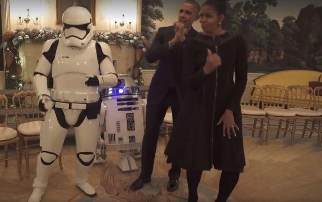 """Обама отпраздновал День """"Звездных войн"""""""