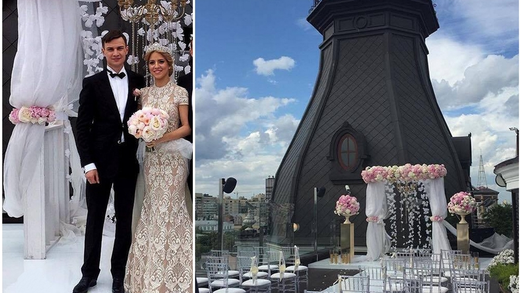 Старший сын Валерия Гелетея женился в минувшие выходные
