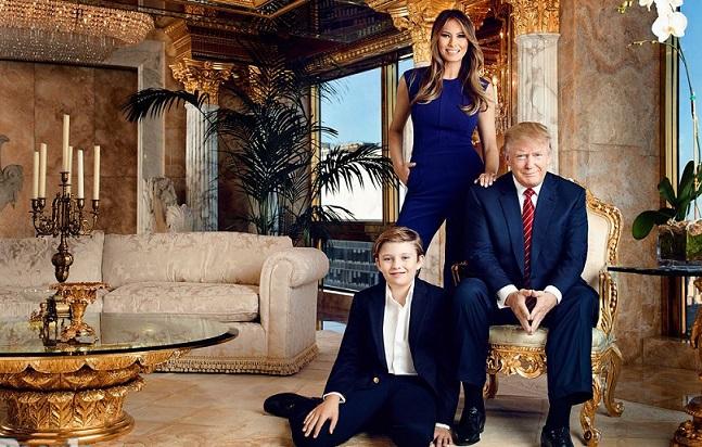 Апартаменты 45-го президента США в Нью-Йорке сравнили с новым жилищем в Белом доме