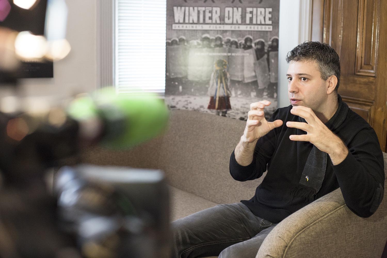 Создатели фильма о Майдане перессорились в США
